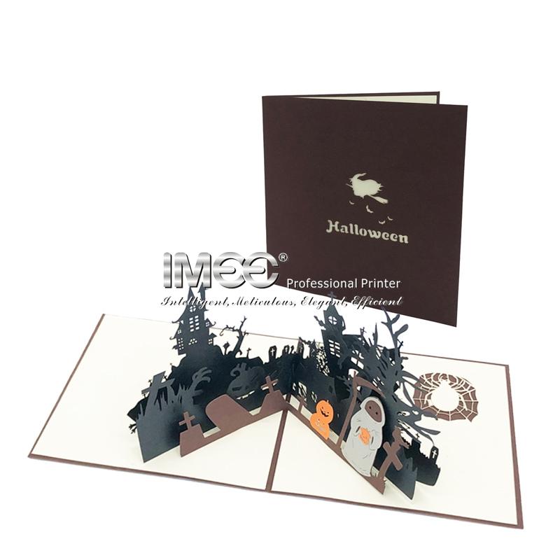 3D Helloween Festival Card