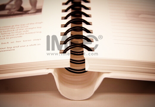 Concealed Wire-O Bound Book