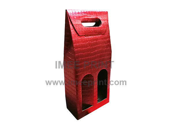 Foldable wine box-297